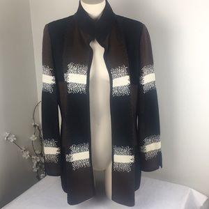 St John Boutiques Wool Cardigan Sweater